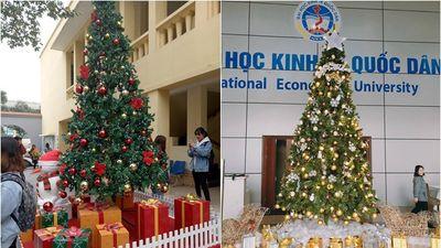 Loạt ảnh chứng minh Giáng sinh đã về đến ngõ rồi - Đọ xem các trường Đại học nào có góc Noel đẹp nhất