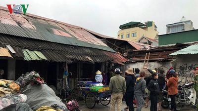 Vụ cháy kho hàng gần chợ Vinh: Bộ Công điều tra nguyên nhân