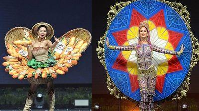 Ngoài 'Bánh mì', trang phục dân tộc các nước tại Miss Universe ra sao?