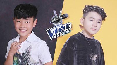 Văn Minh - Anh Tuấn: Cặp đôi 'hoàng tử nhí' có gu thời trang 'chất' nhất The Voice Kids 2018