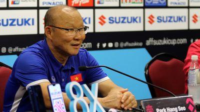 HLV Park Hang Seo: Hơi thất vọng nhưng tuyển Việt Nam chơi rất hay