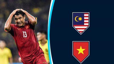Chấm điểm Malaysia vs Việt Nam: Đức Chinh kém may