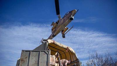 Bị Mỹ cấm vận trực thăng Cobra Iran vẫn bay tốt sau 40 năm
