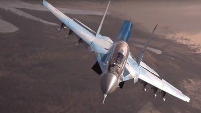 Màn trình diễn ấn tượng của tiêm kích MiG-35 hàng đầu Nga