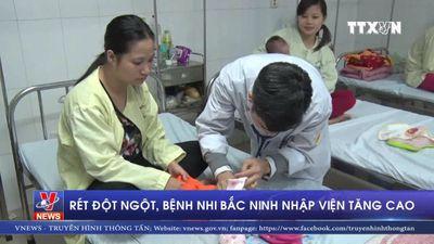 Rét đột ngột, bệnh nhi Bắc Ninh nhập viện tăng cao