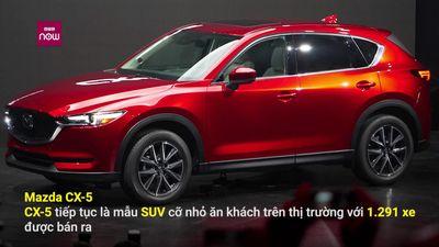 10 mẫu ô tô ăn khách nhất thị trường tháng 11/2018