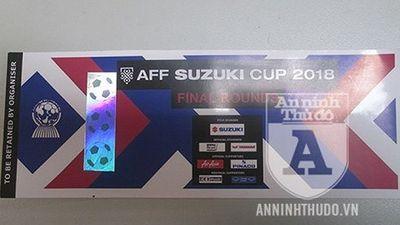 Cảm giác: Vé giả xem trận chung kết AFF Cup 2018 lan sang chợ trực tuyến