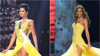 H'Hen Niê và màn hất váy lấy cảm hứng từ Hoa hậu Dayana Mendoza