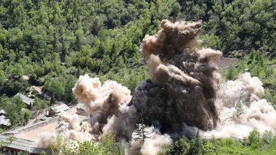 Triều Tiên chưa phá hủy hoàn toàn bãi thử hạt nhân Punggye-ri?