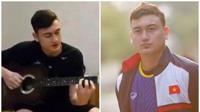 Thủ môn Đặng Văn Lâm khoe video ôm đàn guitar hát cực lãng tử khiến fans nữ ngây ngất