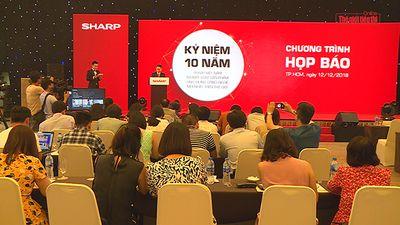 Sharp Việt Nam kỷ niệm 10 năm