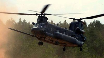 Sức mạnh siêu trực thăng vận tải Boeing MH-47 của Mỹ
