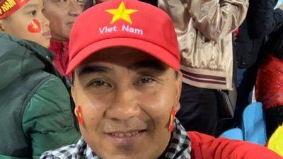 Phương Thanh, Quyền Linh ở 'chảo lửa' Mỹ Đình cổ vũ cho tuyển Việt Nam