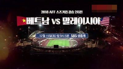 Đài SBS Hàn Quốc tung trailer trận chung kết AFF Cup cổ vũ thầy trò HLV Park Hang Seo