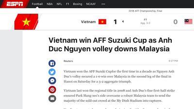 Việt Nam vô địch, báo chí châu Âu khen ngợi Quang Hải, Văn Lâm