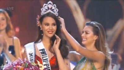 Khoảnh khắc đăng quang của tân Hoa hậu Hoàn vũ 2018