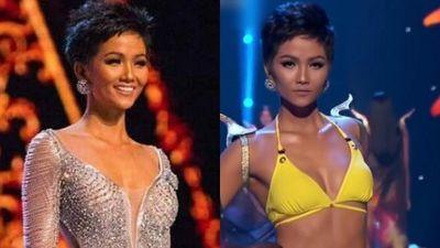 Khoảnh khắc tỏa sáng của H'Hen Niê tại Hoa hậu Hoàn vũ 2018