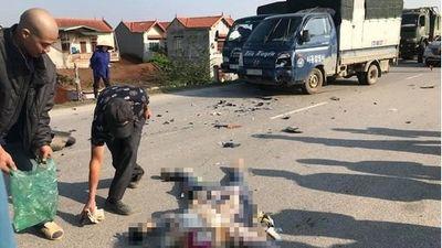 Hưng Yên: Xe máy đối đầu ô tô, người phụ nữ tử vong thương tâm