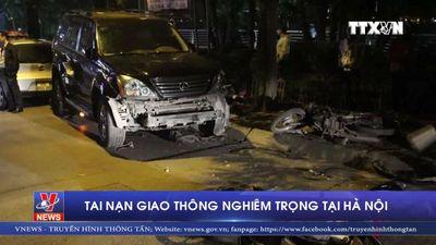 Tai nạn giao thông nghiêm trọng tại Hà Nội