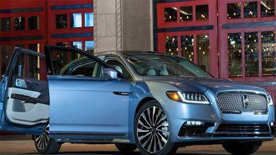 Lincoln Continental phiên bản đặc biệt ra mắt 'đấu' Audi A8