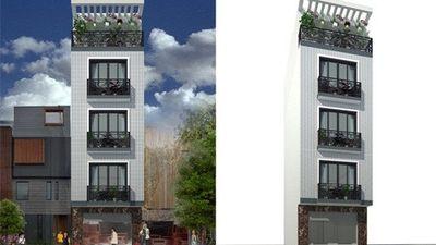 Hút mắt 10 mẫu nhà 5 tầng hiện đại tối ưu công năng