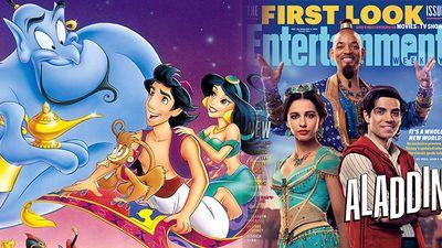 Phim live-action 'Aladdin' của Disney tung ảnh nhân vật: Thần Đèn và công chúa Jasmine gây chú ý
