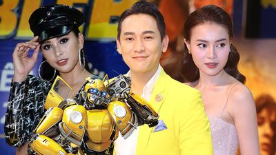 Hoa hậu Tiểu Vy đối lập phong cách với Ninh Dương Lan Ngọc, Hứa Vĩ Văn chọn vest giống màu Bumblebee