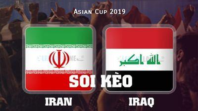 Soi kèo Iran vs Iraq Asian Cup 2019: Sức mạnh đội bóng số 1 Châu Á
