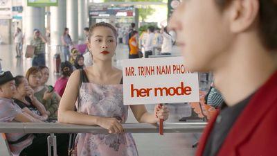 Diễn xuất của Chi Pu vẫn còn lấn cấn trong tập 1 'Mối tình đầu của tôi' nhưng lại ghi điểm vì lối xưng hô 'vợ chồng' đáng yêu