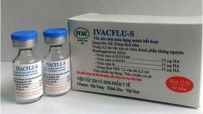 Vắc-xin phòng cúm mùa do Việt Nam sản xuất chính thức được lưu hành