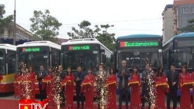 Mở 2 tuyến buýt từ bến xe Mỹ Đình và bến xe Giáp Bát đi Ứng Hòa