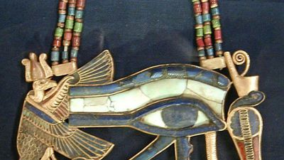 Giải mã con mắt thần linh huyền bí của pharaoh Ai Cập