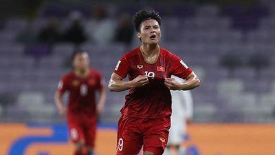 Quang Hải: 'Cảm ơn đồng đội vì đã thi đấu nỗ lực trong suốt trận đấu'