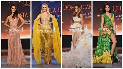 Top 15 trang phục dạ hội đẹp xuất sắc đêm thi Miss Intercontinental 2018