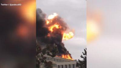 Cháy nổ ở tòa nhà trường Đại học Tổng hợp Lyon, Pháp