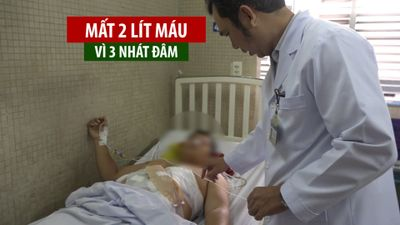 Cứu bệnh nhân bị mất 2 lít máu vì 3 nhát đâm trí mạng