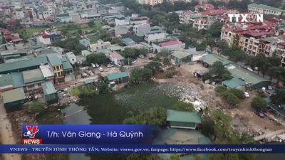 Cưỡng chế tháo dỡ công trình lấn chiếm hồ Đầm Bông