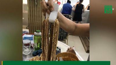 Mang 230 lượng vàng 'nhặt được' đi bán, hai thanh niên bị điều tra