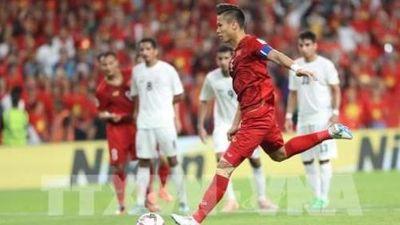 Đội trưởng Quế Ngọc Hải được báo quốc tế vinh danh trước trận chiến với Jordan