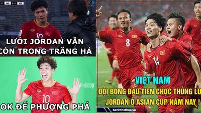 Là cầu thủ đầu tiên chọc thủng lưới Jordan ở Asian Cup năm nay, Công Phượng gây sốt MXH