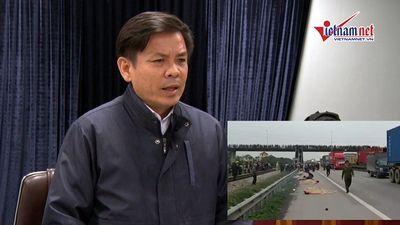 Bộ trưởng GTVT Nguyễn Văn Thể chỉ đạo 'nóng' vụ tai nạn 8 người chết