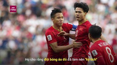 Báo nước ngoài ca ngợi chiến thắng 'ma thuật' của tuyển Việt Nam