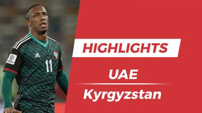 Highlights Asian Cup 2019: UAE 3-2 Kyrgyzstan