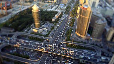 Kinh ngạc đất nước Trung Quốc nhìn từ trên cao