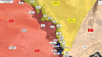 Lực lượng Dân chủ Syria chiếm 1 làng, tấn công một thị trấn ở Deir Ezzor