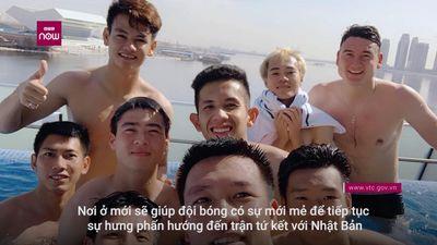 Siêu khách sạn tuyển Việt Nam chuyển đến xịn cỡ nào?