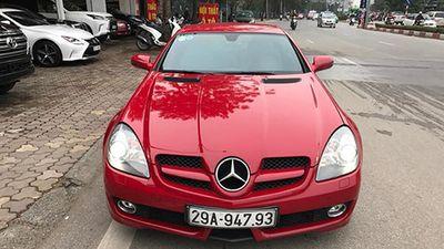 Xe sang chảnh Mercedes-Benz SLK chỉ 795 triệu ở Hà Nội