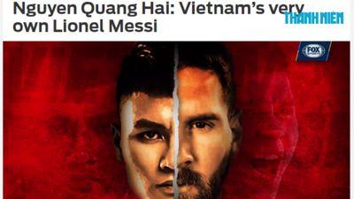 Báo nước ngoài gọi Quang Hải là 'Messi Việt Nam'