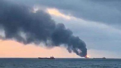 Cháy tàu ở eo biển Kerch: Không hi vọng tìm được thêm người sống sót