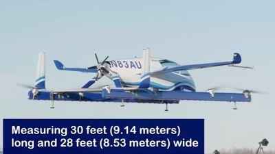 Máy bay tự hành chạy điện của Boeing